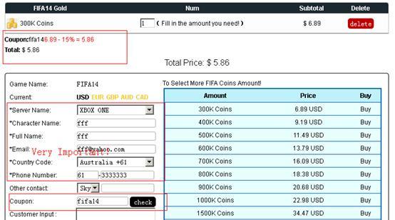 Fifa cheap coupon codes