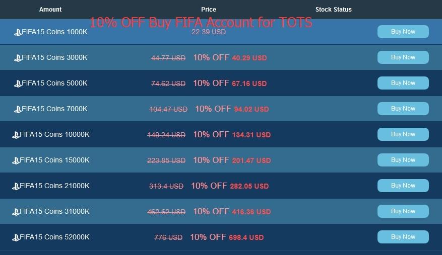 10 Discount Code And Bonus Fifa 15 Coins Comfort Buy And Buy Fifa