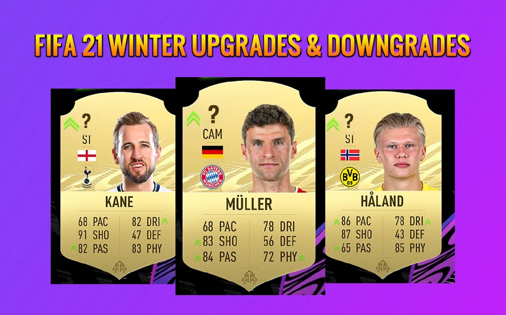 FIFA 21 Winter Upgrades & Downgrades - Rating Refresh